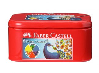 faber castell poster colours sets of 6 shades